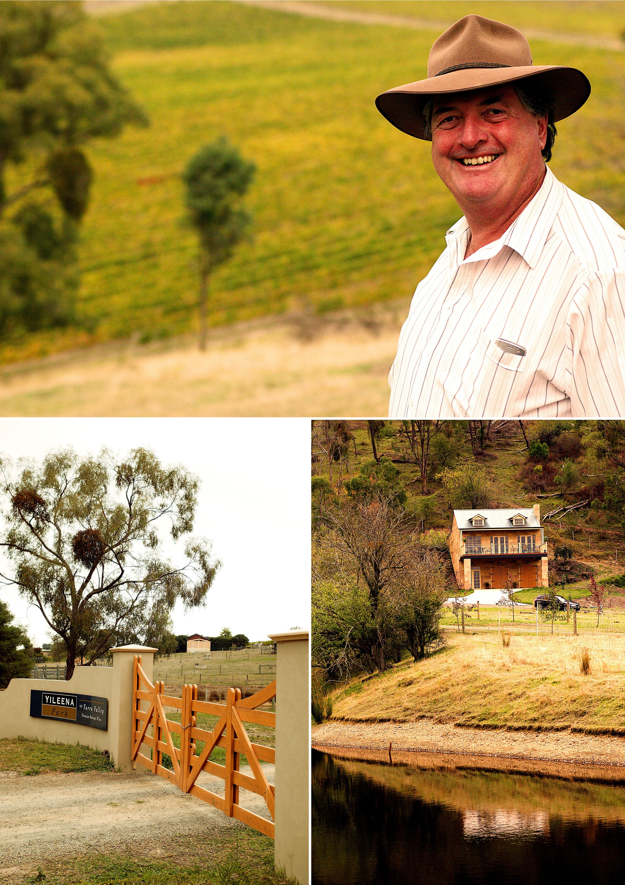 This is a truly interesting and informative interview with Bob Curtis from Yileena Park Winery of Yarra Valley.  You can win this month (October) as well wine from Yileena Park Winery of Yarra Valley - simply by entering our competition on our website :)