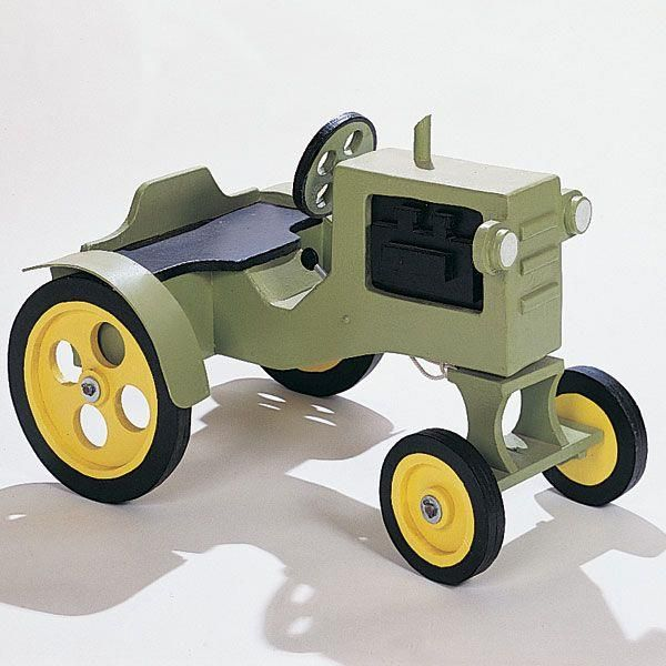 Woodworking Project Plan To Build Tractor No 610