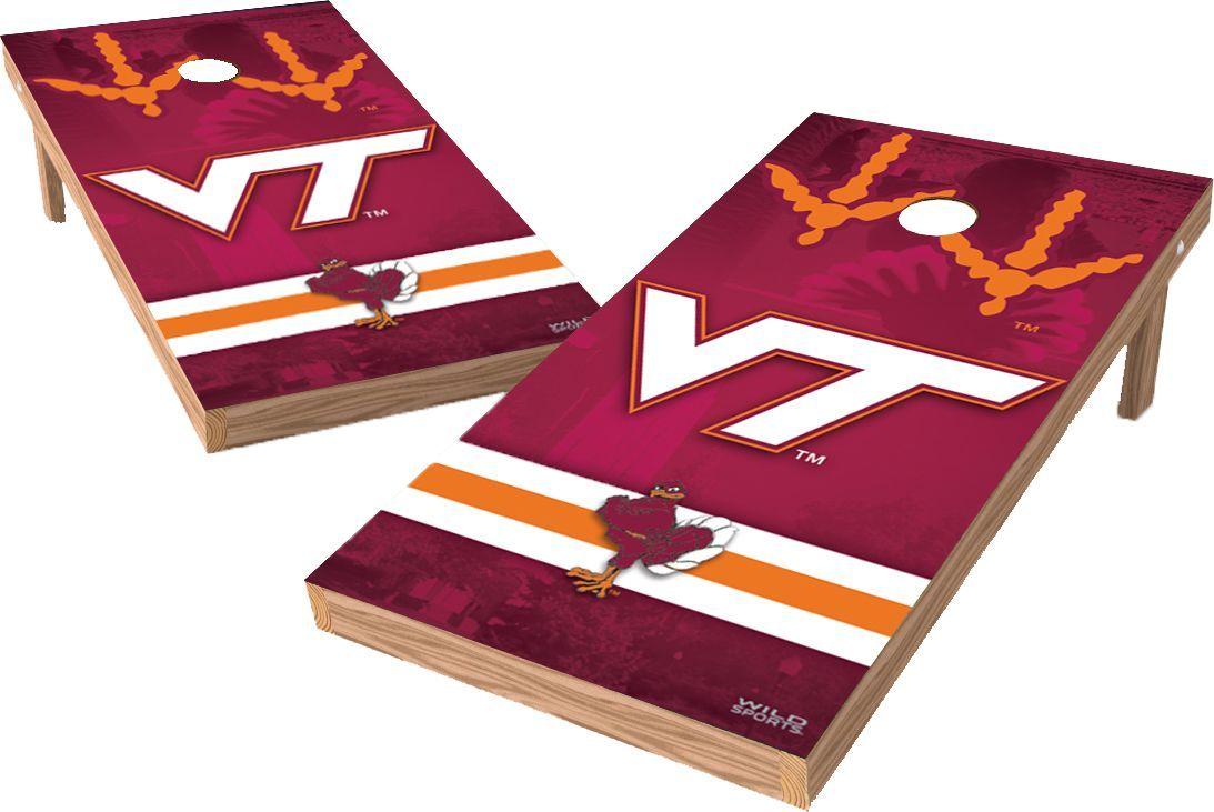 Wild Sports Virginia Tech Hokies XL Tailgate Bean Bag Toss