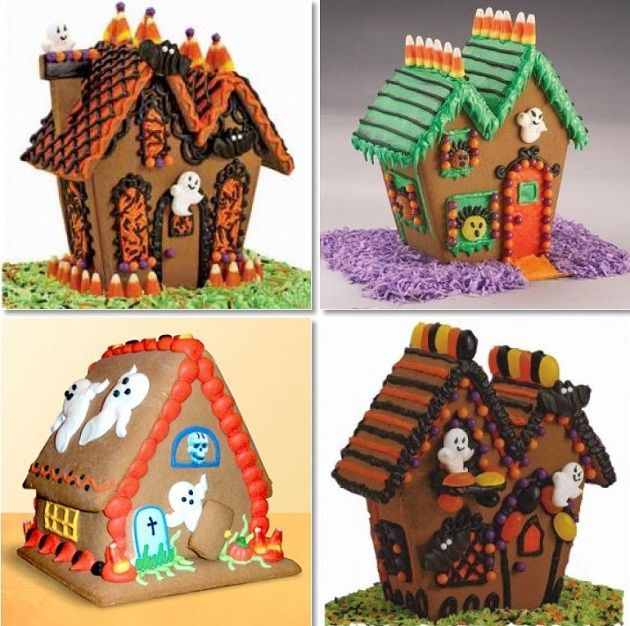 Attractive Haunted Gingerbread Houses   Celebrations At Home