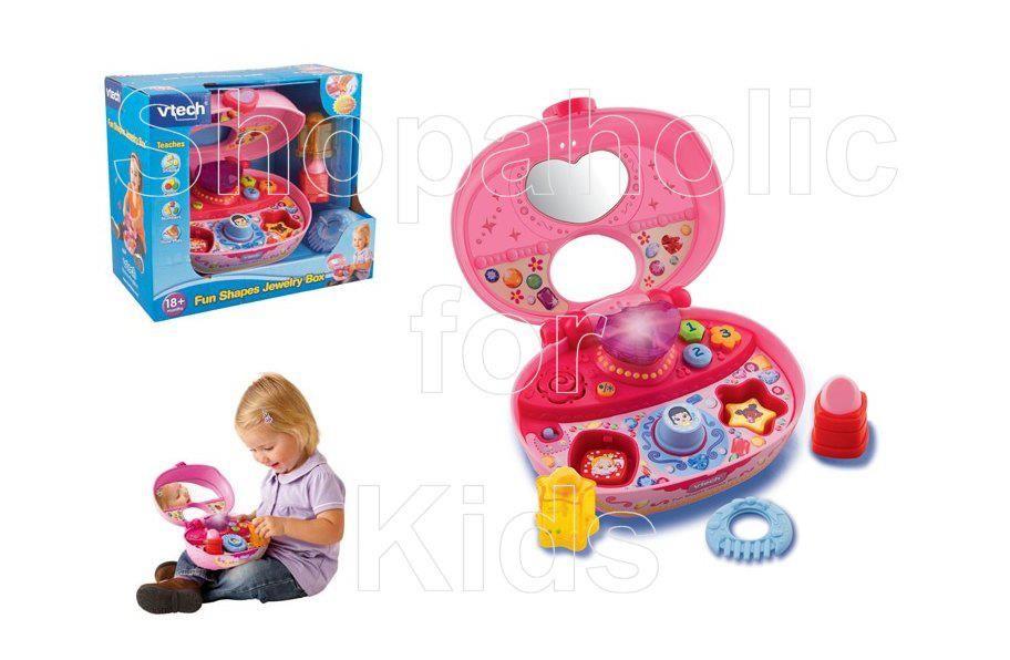 Vtech Fun Shapes Jewelry Box For Sale Fun Toys Pinterest