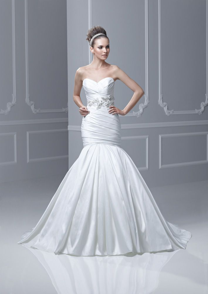 Formosa--stunning! We have this gown and amazing belt in our store ...