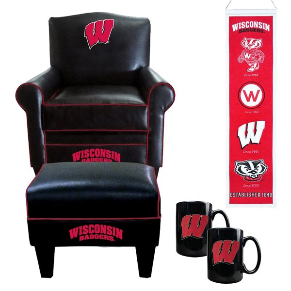 Wisconsin Badgers Man Cave March Madness Man Cave