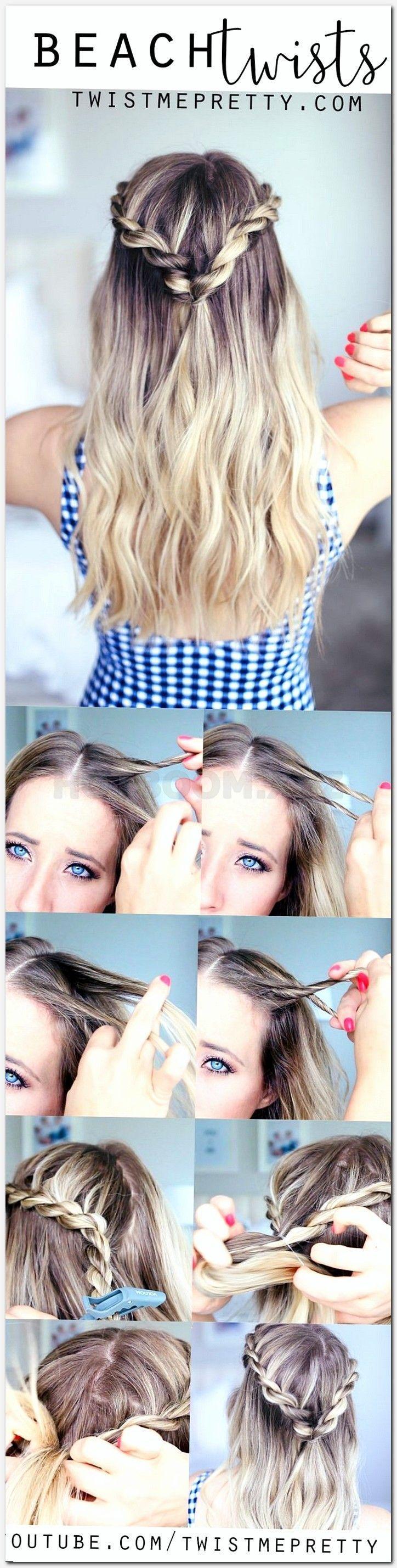 simple medium length hairstyles, fast cute easy hairstyles, mens top haircuts, m… #haircuts # ...