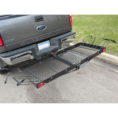 Ultra Tow 2 In 1 Cargo Carrier With 4 Bike Rack 500 Lb Capacity