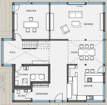 huf haus grundrisse art 6 9 bauprojekt 3 huf haus huf haus art sonder huf haus fertighaus von. Black Bedroom Furniture Sets. Home Design Ideas