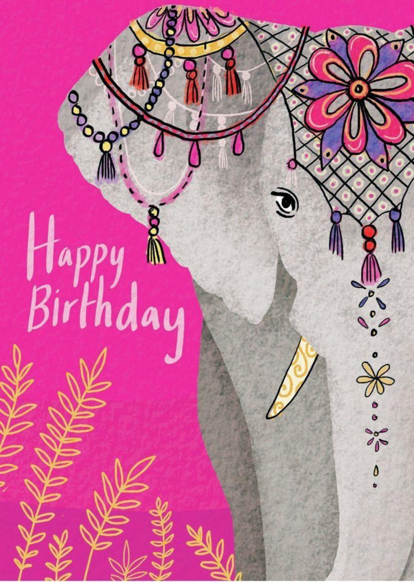Pin By Carol Lucero On Birthday Happy Birthday Elephant Happy Birthday Greetings Friends Happy Birthday Friendship