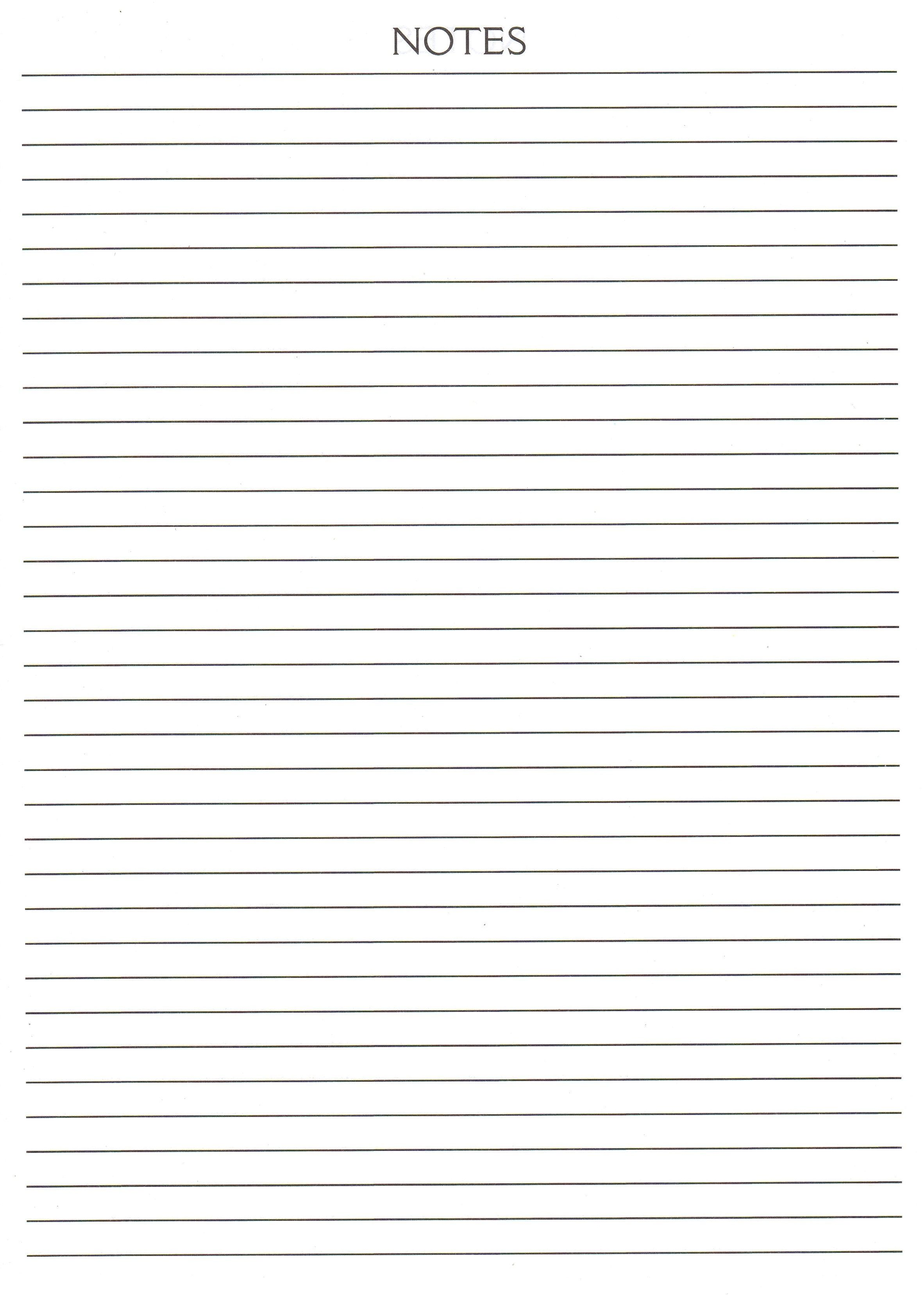 basic notebook page template fyi pinterest
