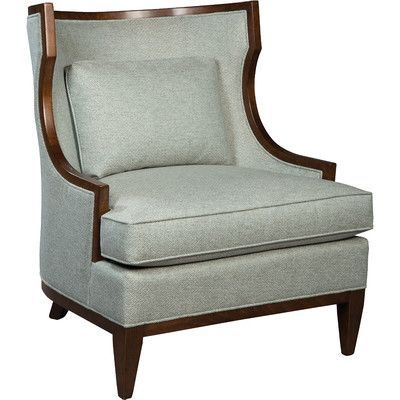 Fairfield Chair Transitional Wingback Chair Color: Linen
