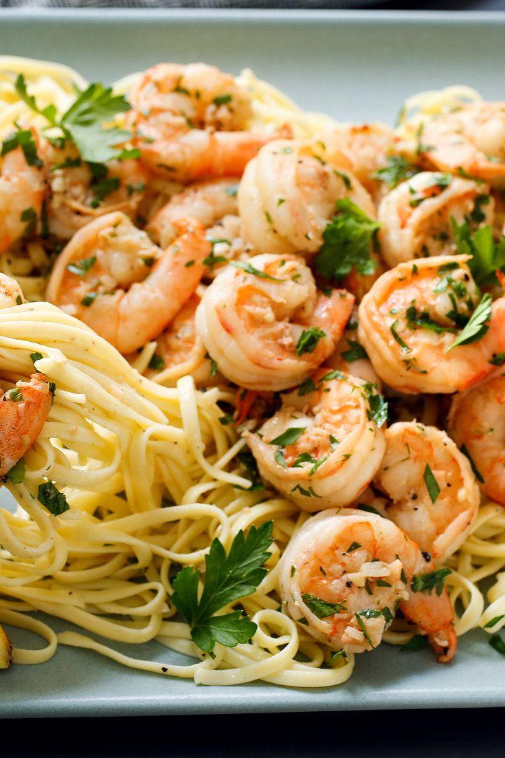 Whole Foods Marinated Shrimp Scampi : whole, foods, marinated, shrimp, scampi, Classic, Shrimp, Scampi, Recipe, Food,, Recipes,