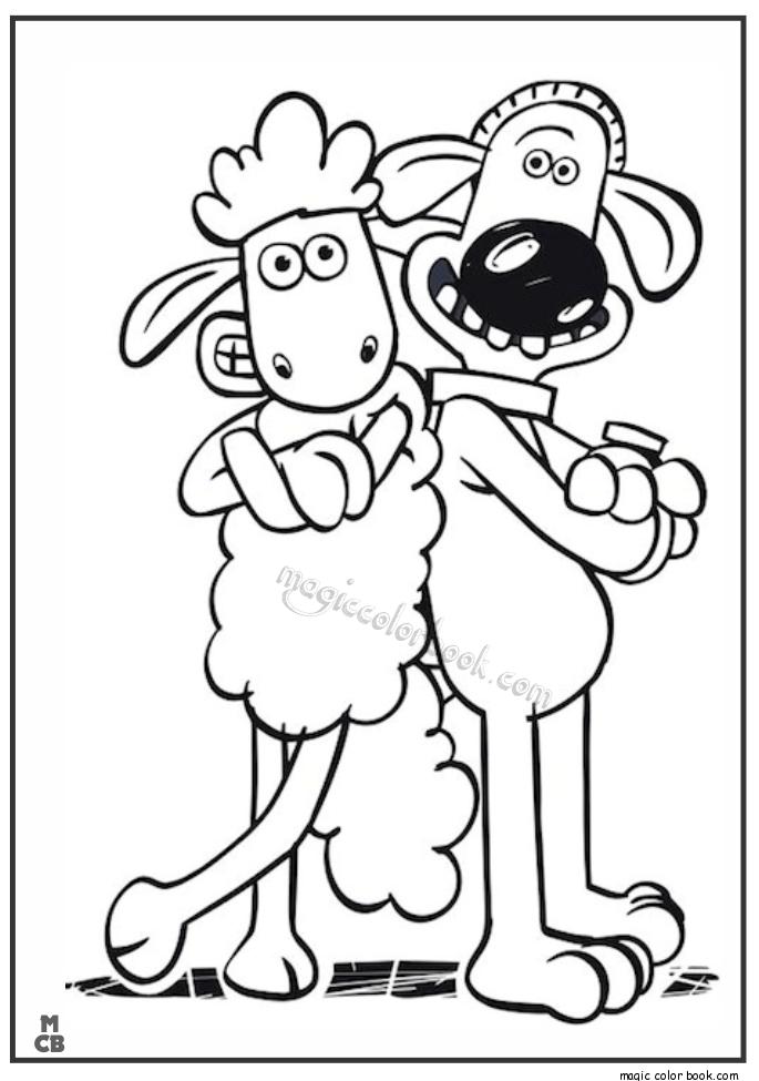 Shaun The Sheep Archives Magic Color Book Sheep Art Sheep Drawing Shaun The Sheep