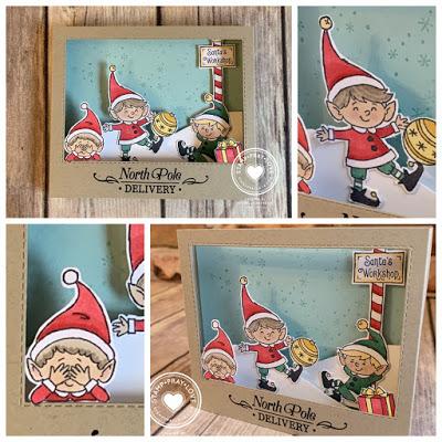Stamp · Pray · Love: Sneak Peek at the Holiday Catalog: #Elfie (Part 1) #stampmaking