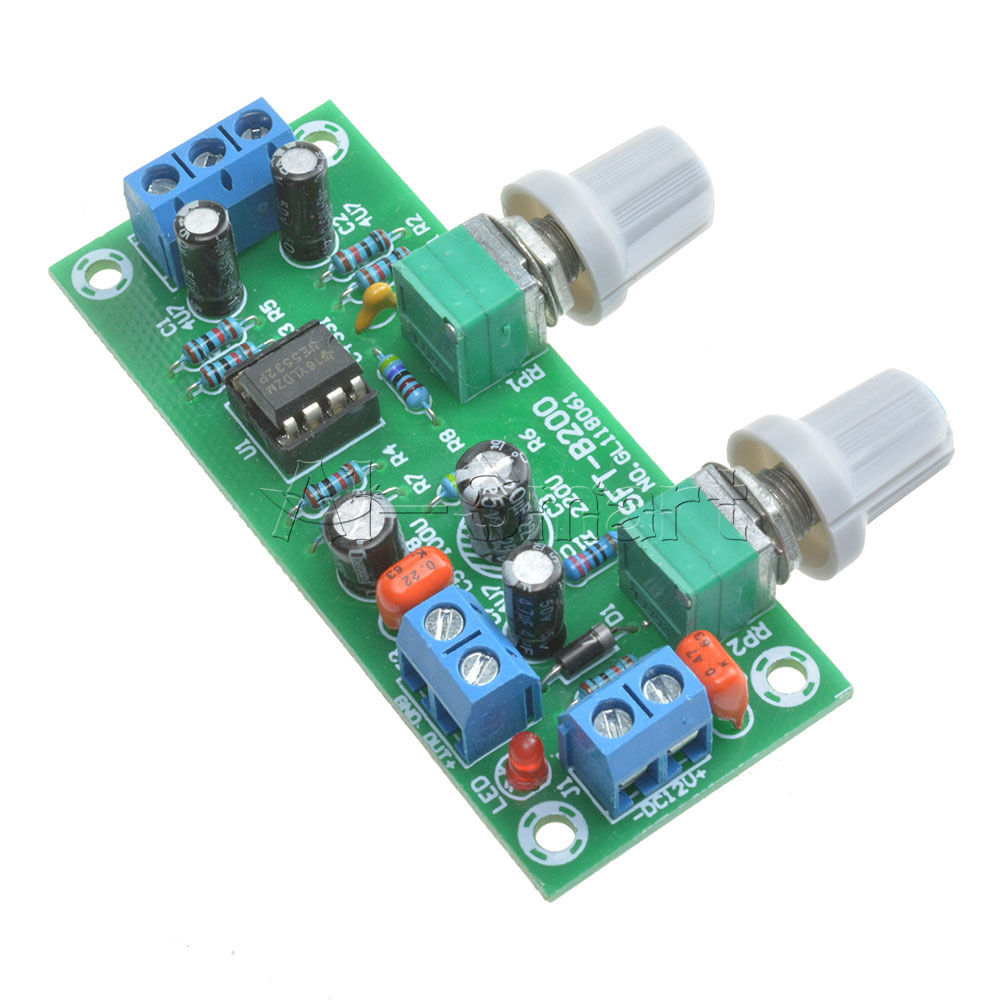 366 Gbp Dc 12 24v Low Pass Filter Ne5532 Bass Tone Subwoofer Pre Amplifier Circuit Tda7294 Amp