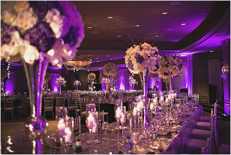 Purple And Silver Houston Wedding By Sassani Photography Silver