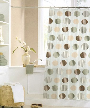 This Orbit Shower Curtain is perfect! #zulilyfinds