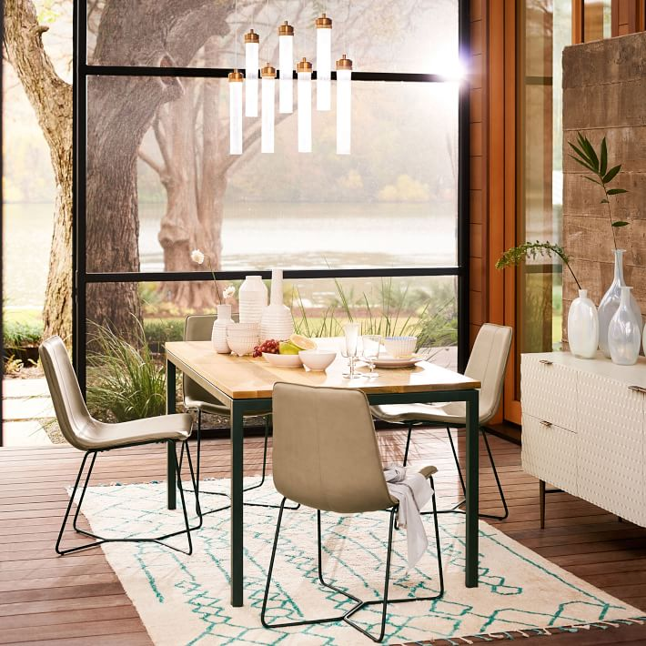 Box Frame Dining Table Expandable Dining Table Dining Table West Elm Dining Room