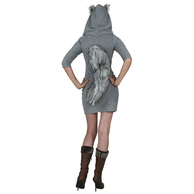 Sexy Squirrel Costume For Women Hooded Dresses With Big Tail Animals Costumes Cosplay Have An Acorn Purse Costume For New Year  sc 1 st  Pinterest & Sexy Squirrel Costume For Women Hooded Dresses With Big Tail Animals ...