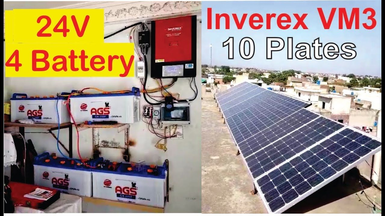 Inverex 3 2kw Inverter For Home Solar System Solar Panels Ags Battery Solar Panels Solar Inverter Solar