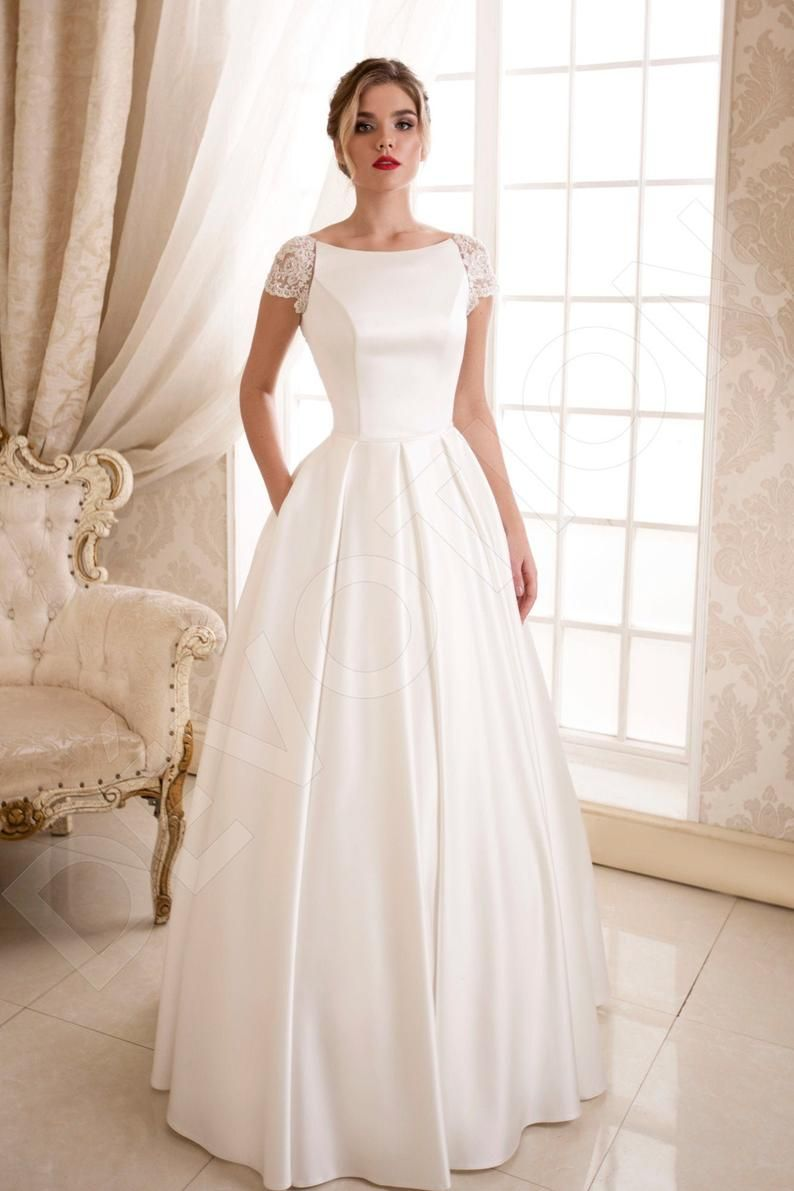 Pin on Simple wedding gowns