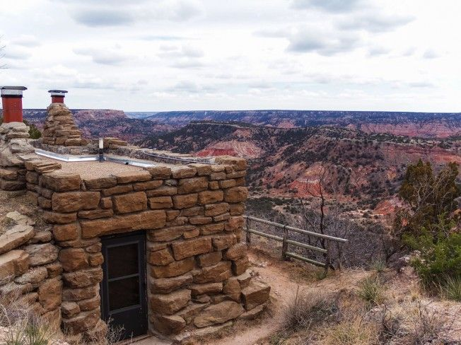 Staying In The Rim Cabins Of Palo Duro Canyon State Park Texas