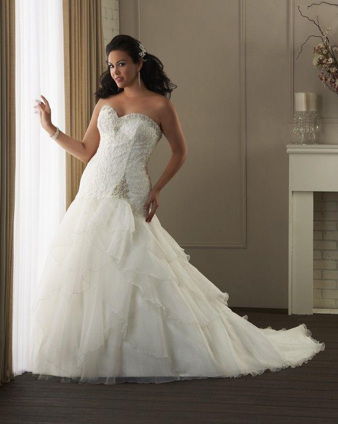 1402 - Unforgettable Plus Size Collections | Bonny Bridal Wedding ...