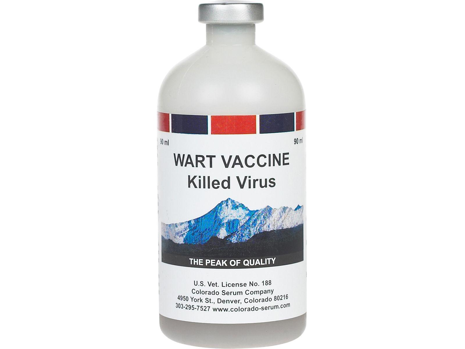 Wart Cattle Vaccine 90 ml