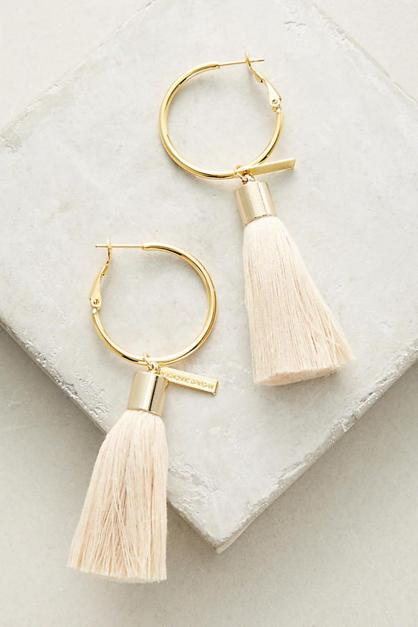 Tassel Hoop Earrings 新波西米亚风 In 2018 Pinterest Jewelry
