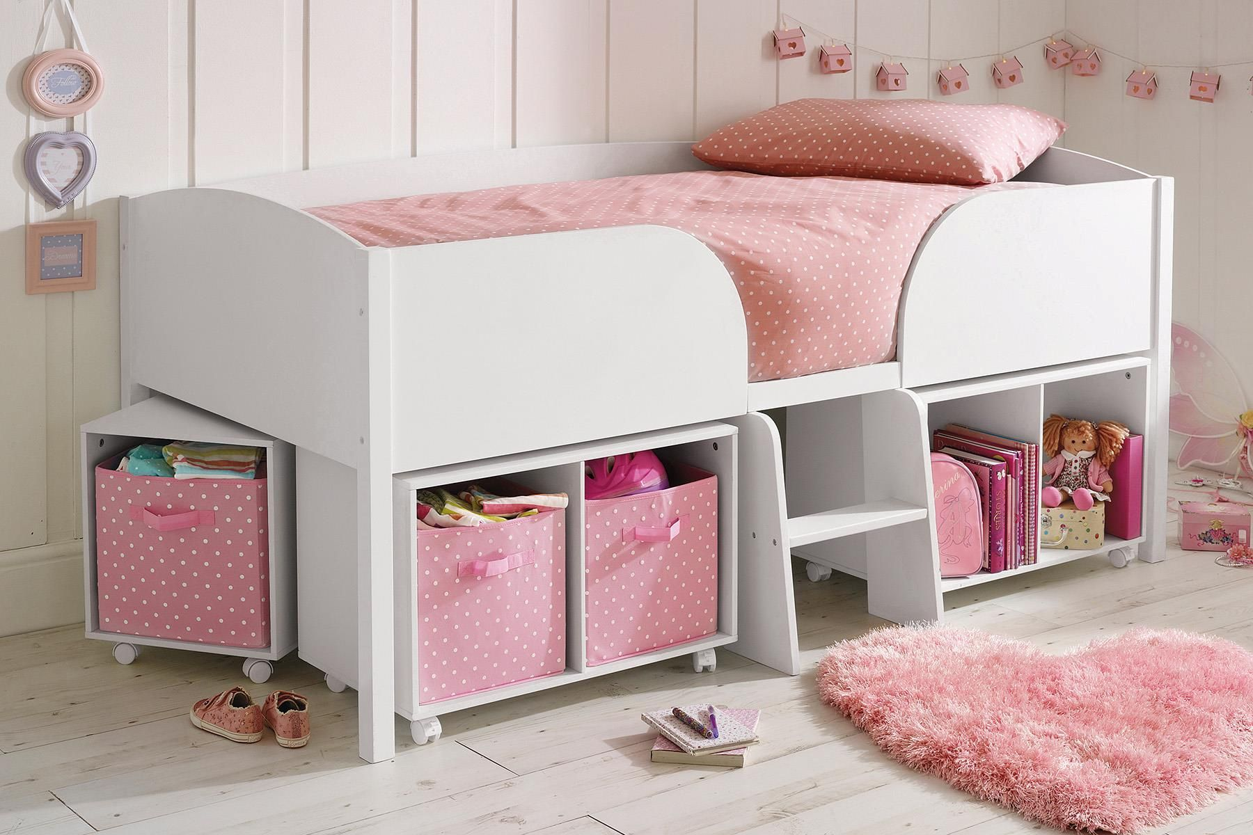 buy white cabin bed from the next uk online shop. Black Bedroom Furniture Sets. Home Design Ideas