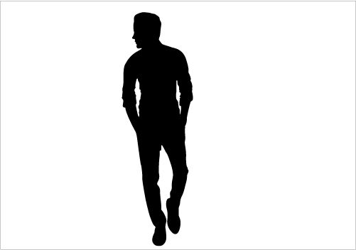 Man Walk Silhouette Graphics Person Silhouette Silhouette Silhouette Clip Art