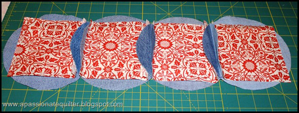 Denim Circle Pillow Tutorial Part 2 Denim Quilt Patterns Circle Quilt Patterns Denim Rag Quilt