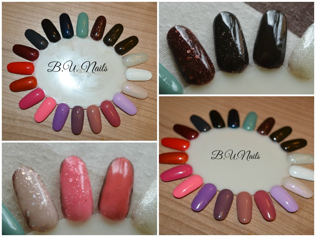 Colours that I work with #opi #gelcolor #ibd just gel polish #ryv gel polish