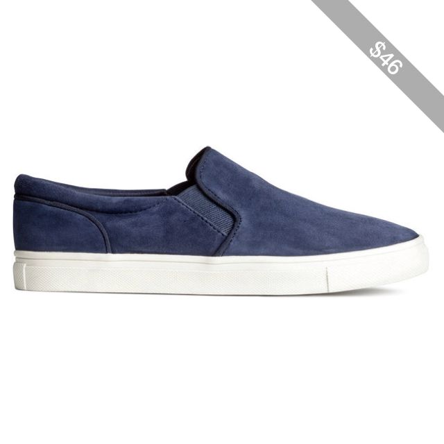 H&M Suede trainers