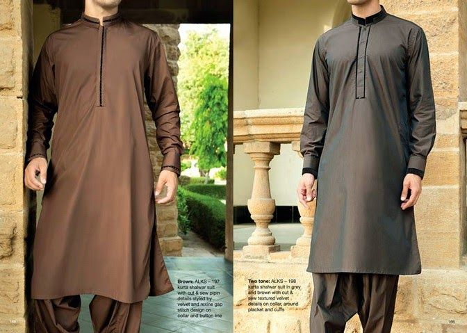 Menswear Kurta dresses 2014 For Eid By Junaid Jamshed (13