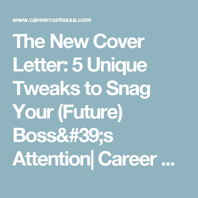 How To Create A Great Cover Letter That Stands Out