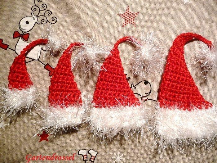 Weihnachtsmannmützen