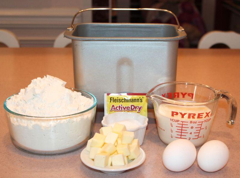 Bread machine Brioche. 1 lb or 2 lb recipes | Bread ...
