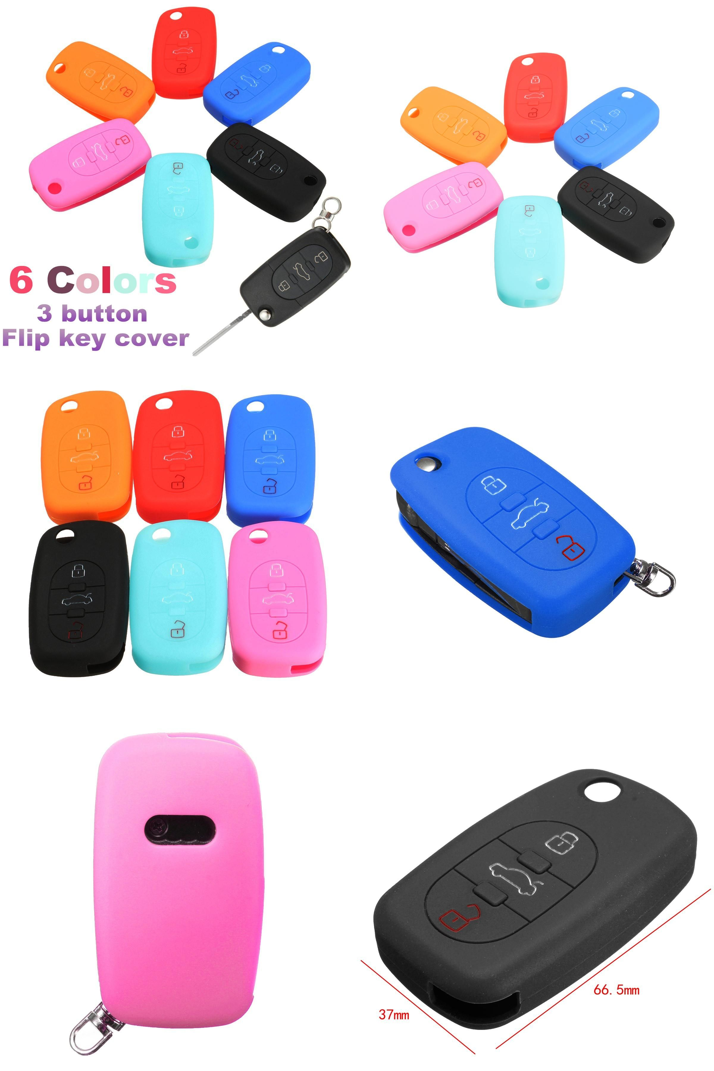 key dwcx bmw flip fit case remote fob cover styling pin for car silicone new