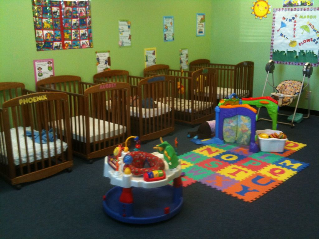 Baby cribs for daycare centers - Infant Room