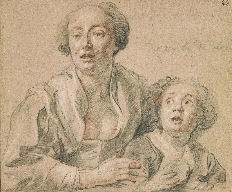 Image result for Jordaens Mother and Child