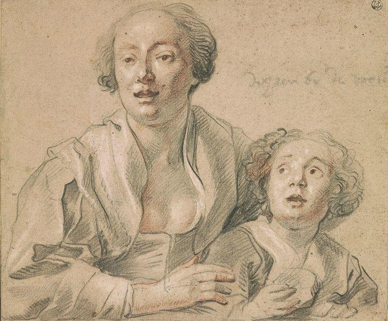 Image result for Jordaens Mother and Child