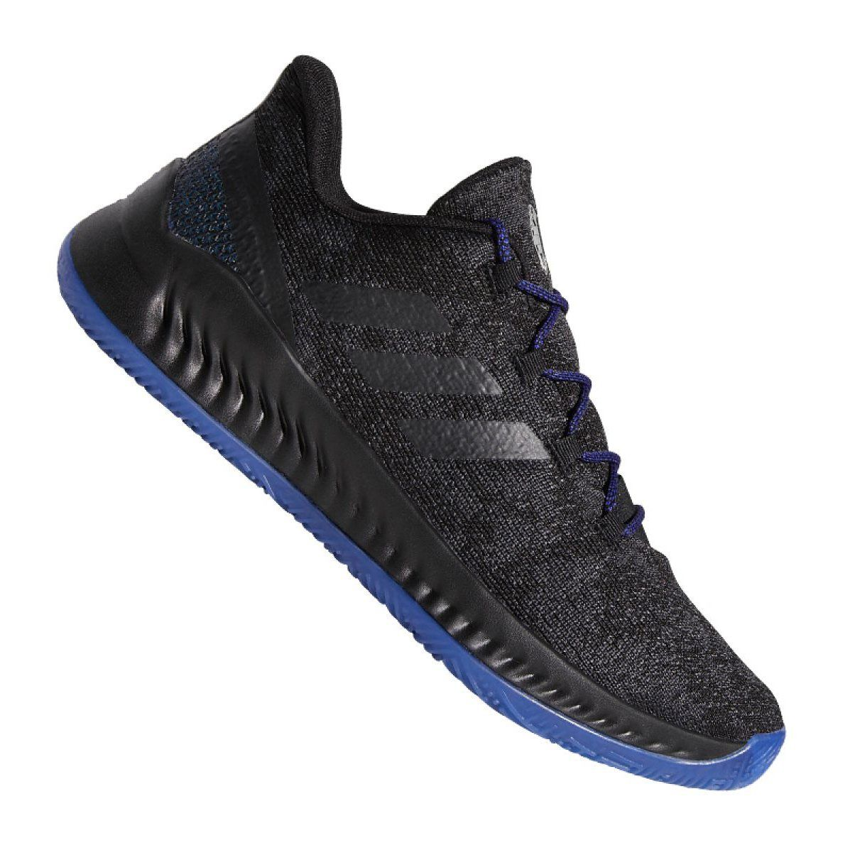 Adidas Harden B Exm F97250 Shoes Black Black Sports Shoes Basketball Black Shoes Basketball Shoes