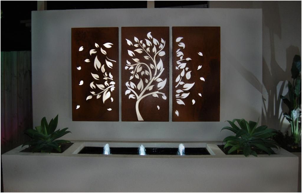 Greatest Ideas Of Outside Wall Decor Outdoor Metal Wall Art Outdoor Wall Decor Metal Sun Wall Art