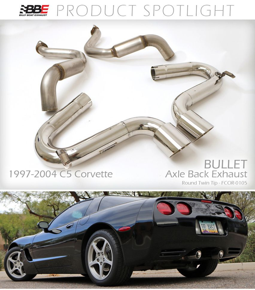 Billy Boat Exhaust Has Created The Most Aggressive C5 Performance Exhaust System To Be Released The Bullet Not Muscle Car Sound Performance Exhaust Exhausted