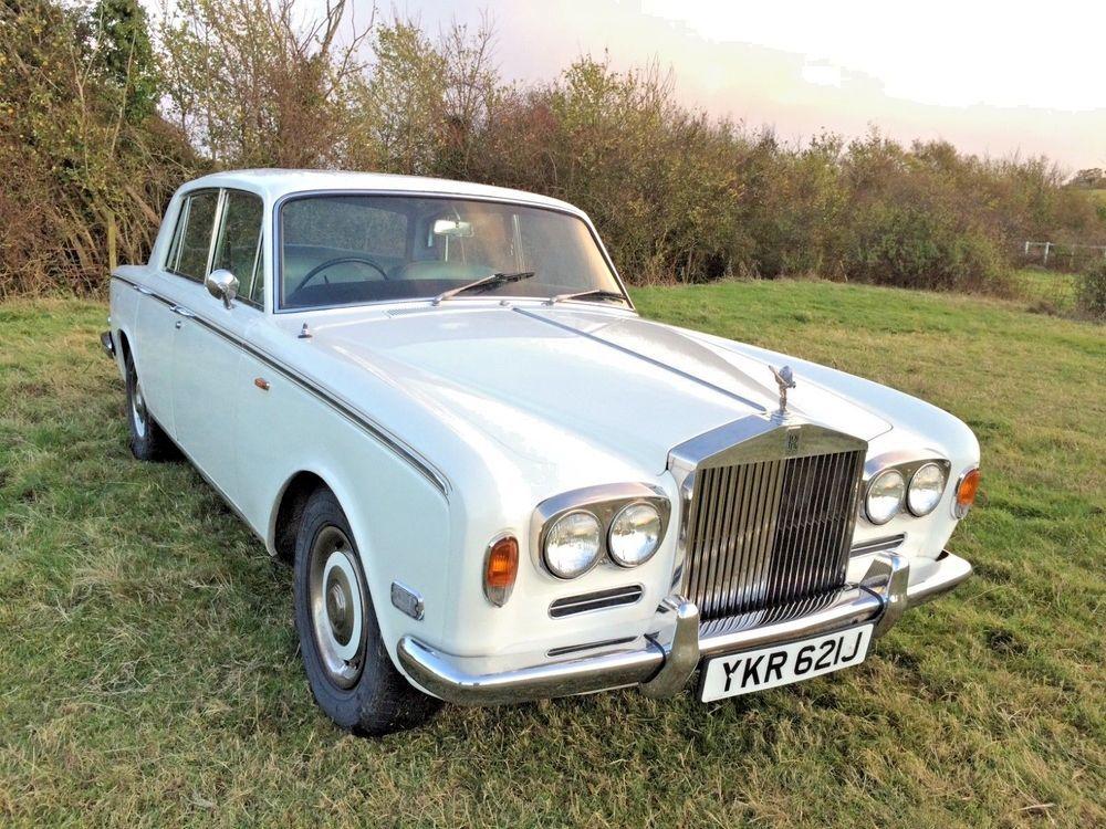 eBay: 1971 mk1 Rolls Royce Silver Shadow, tax exempt #classiccars ...