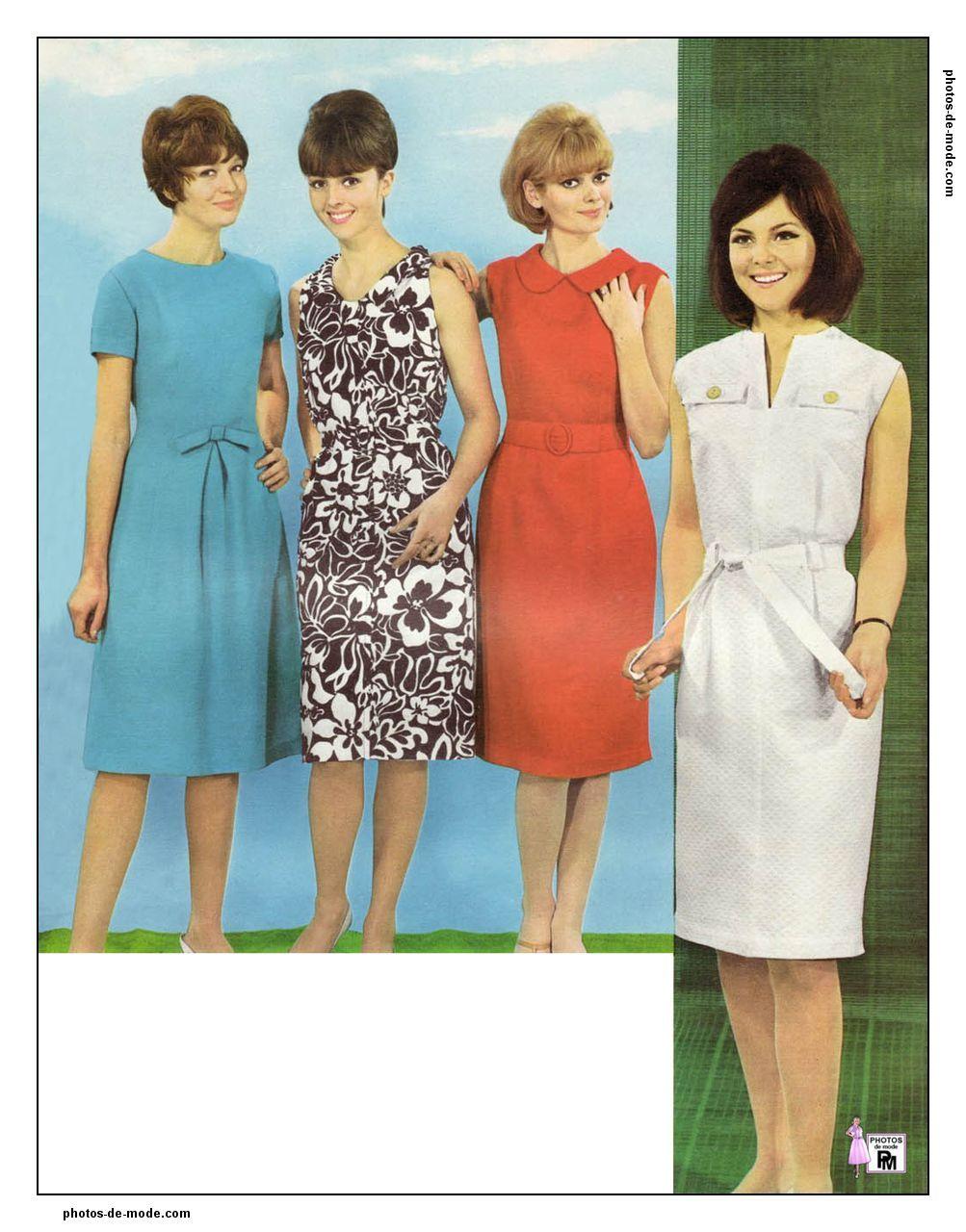 mode ann es 60 1964 60s mode retro mode mode ann e 60. Black Bedroom Furniture Sets. Home Design Ideas