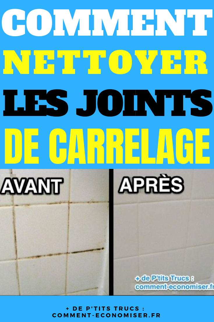Comment Decrasser Joint De Carrelage comment nettoyer les joints de carrelage avec un nettoyant