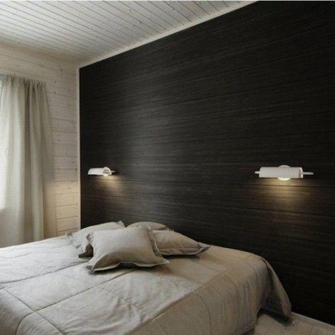Bedroom Headboard Designs 25 Cool Designs Patterned Wallpaper Bedroom Bedroom Wallpaper One Wall Modern Bedroom