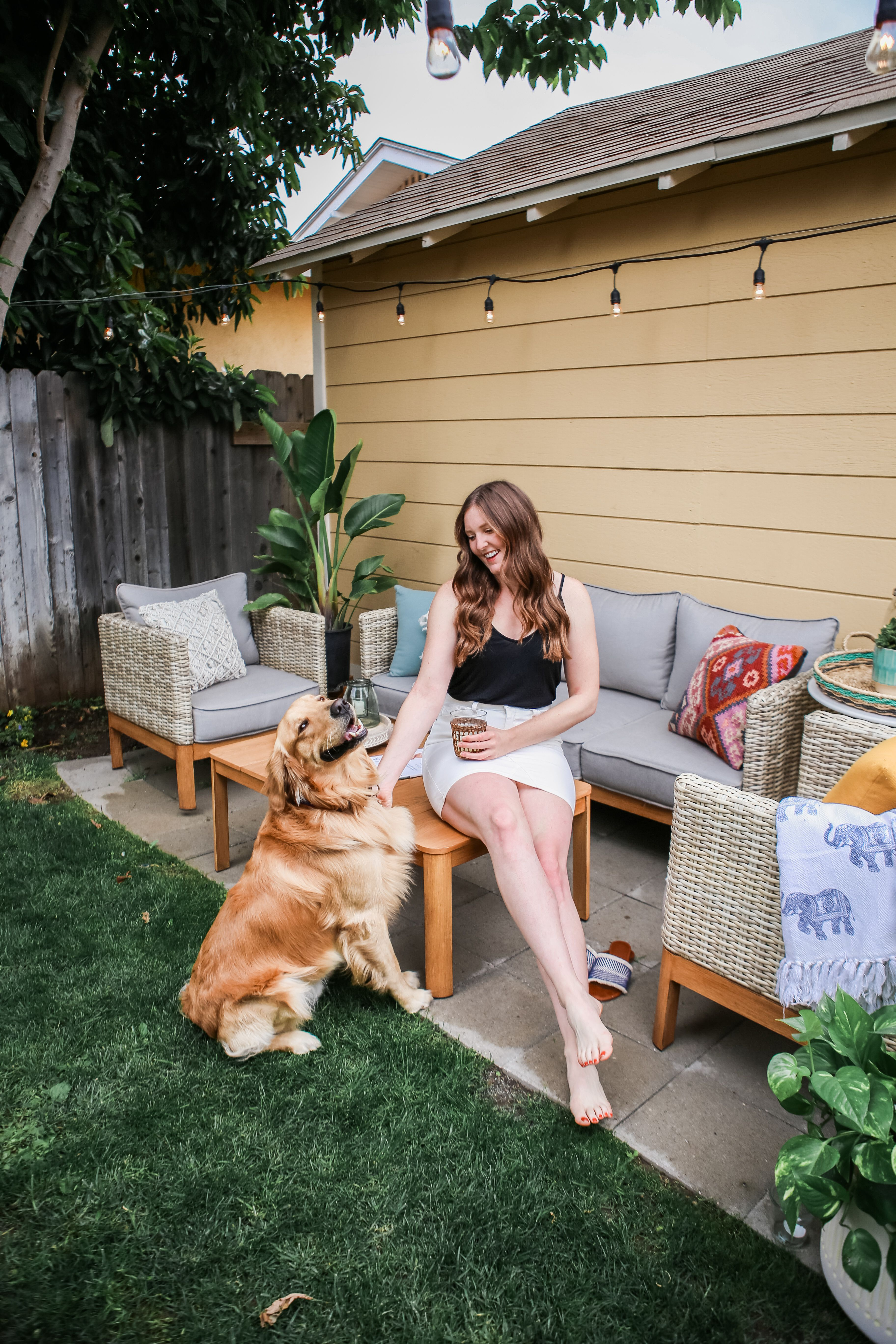 Before & After: Our backyard reveal | Backyard makeover ...
