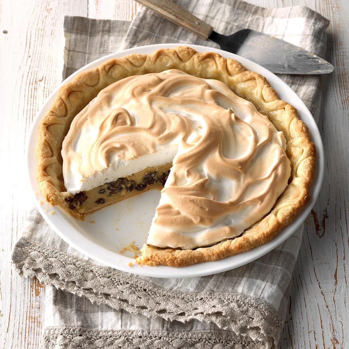 Grandma S Sour Cream Raisin Pie Recipe Sour Cream Raisin Pie Food Recipes Food