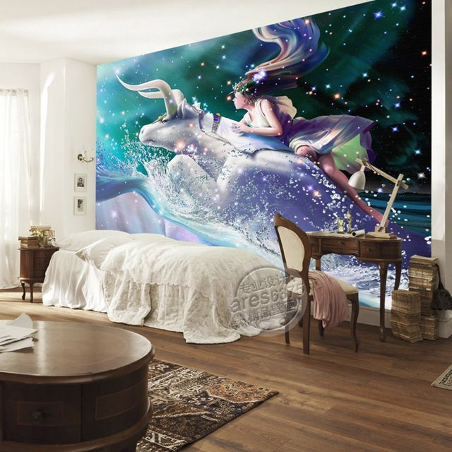Charming Galaxy Wallpaper Taurus Photo Wallpaper Custom 3D Wall Murals Art  Kids Room Decor Bedroom Sitting